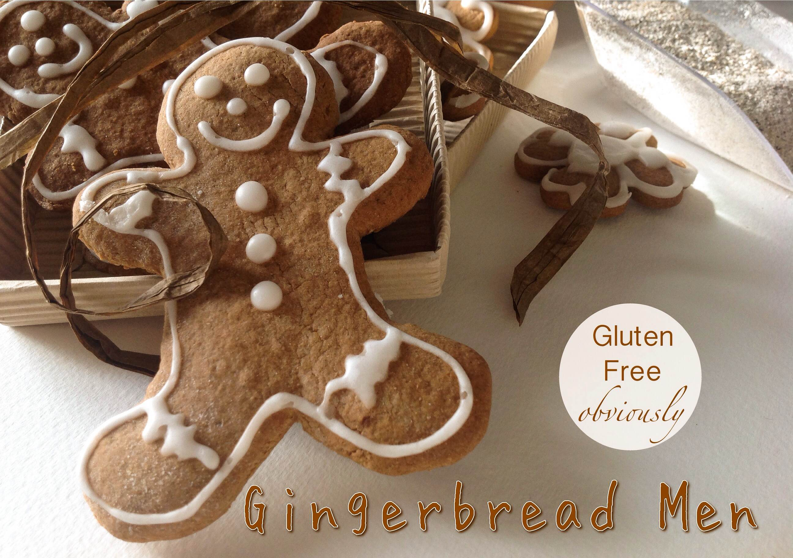always popular these gluten free gingerbread men are so simple to make ...