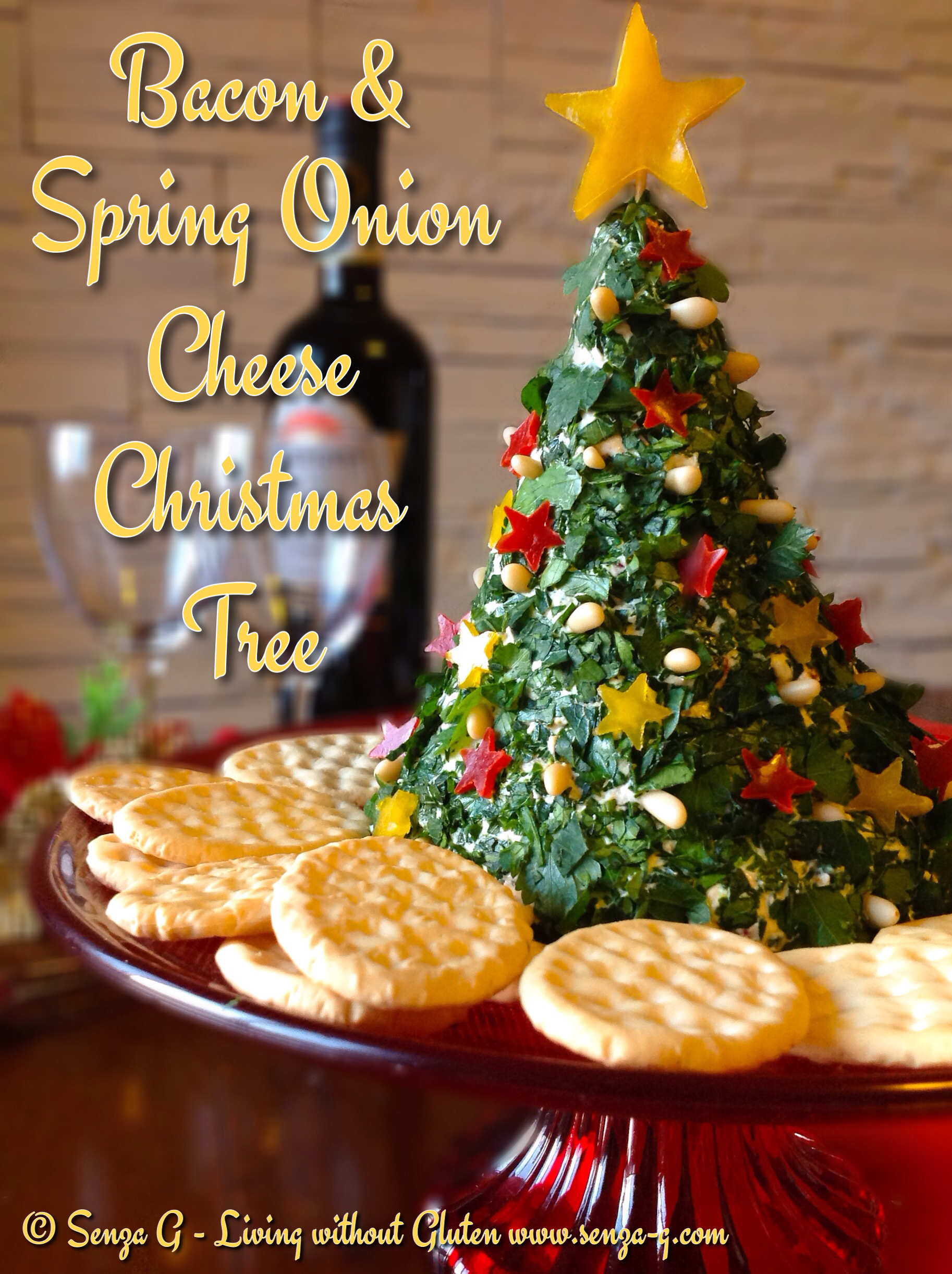 Christmas Cheese Ball.Cheese Christmas Tree Senza G