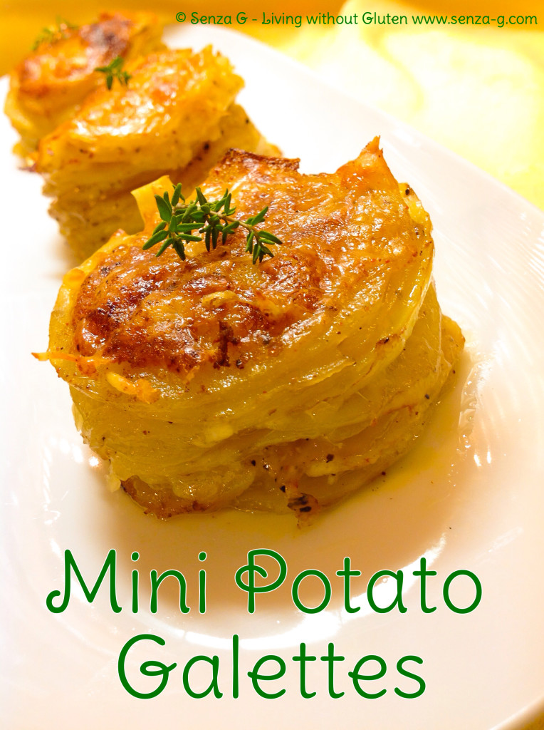 DELICIOUS MINI POTATO GALETTES Senza-G