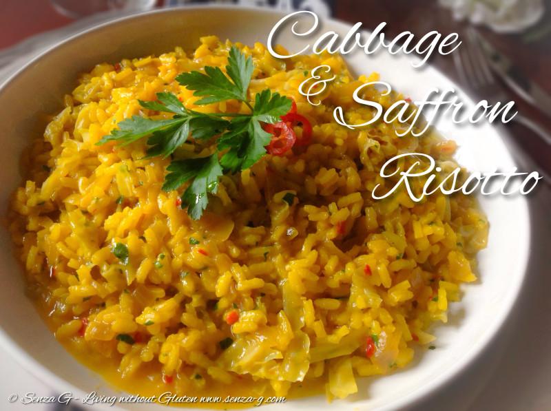 CABBAGE & SAFFRON RISOTTO Senza-G