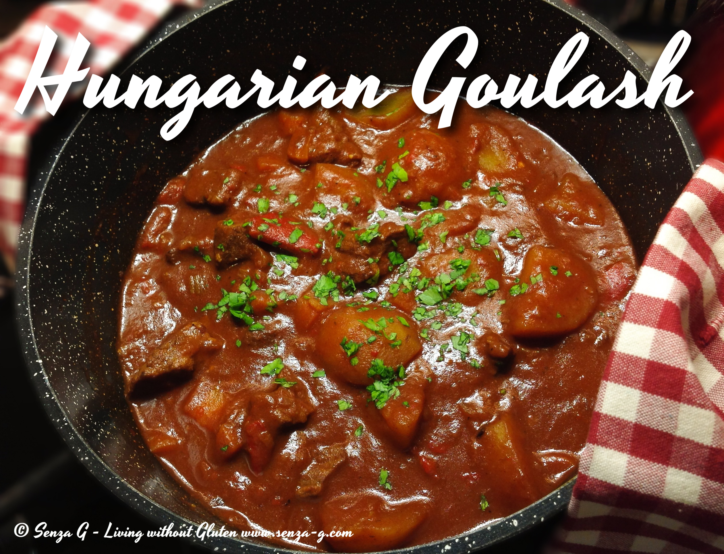 beef goulash recipe yummly hungarian beef goulash with paprika ...